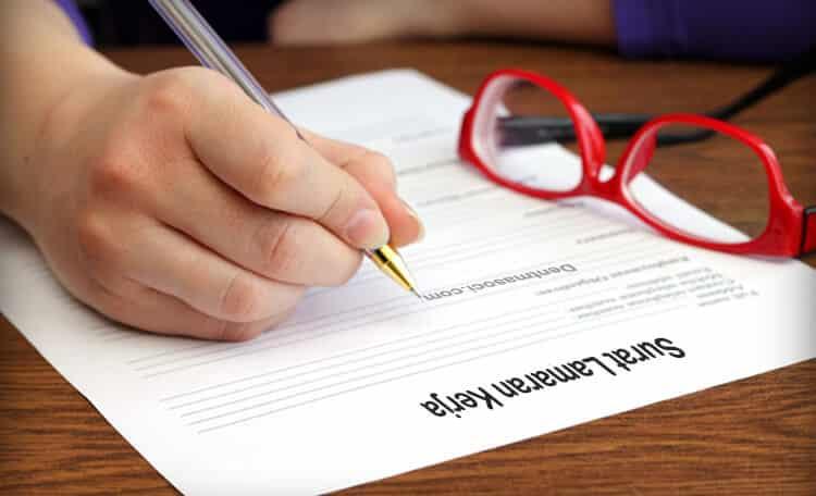 Contoh Surat Lamaran yang Baik dan Benar