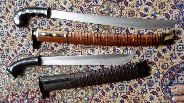 Senjata Tradisional Golok Salungkar