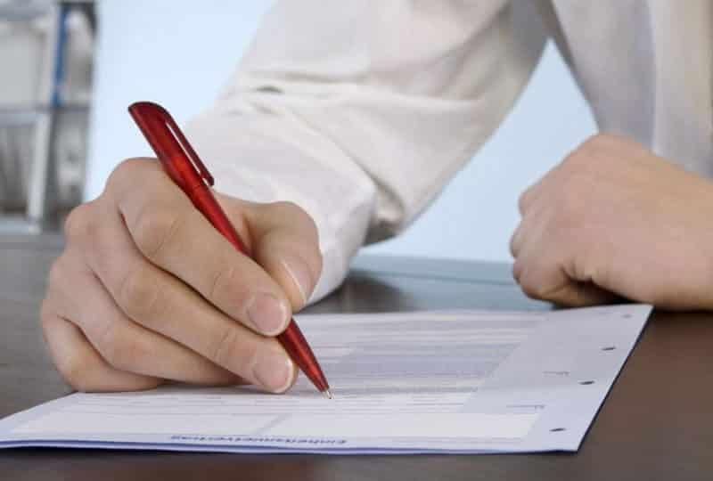 Contoh Surat Pengunduran Diri Karyawan Kontrak Pabrik Perusahaan Bank