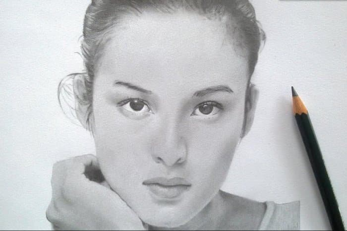Gambar Sketsa Wajah