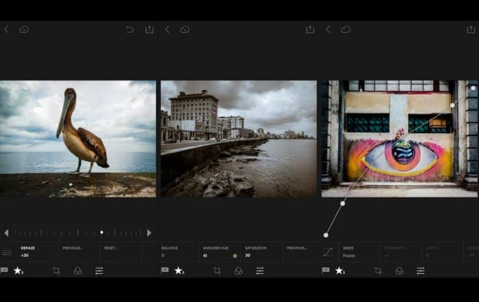 Aplikasi Adobe Photoshop Express dan Photoshop Lightroom