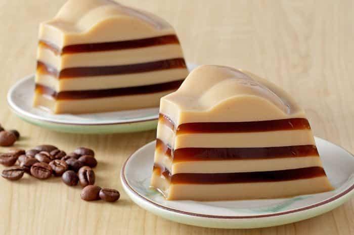 Agar-agar Vanilla Latte