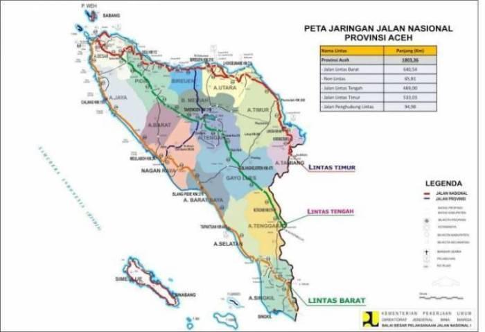 Sejarah Peta Aceh
