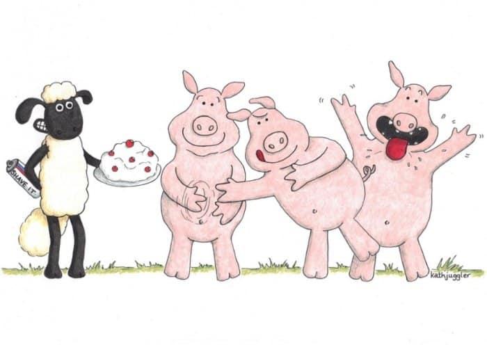 Cerita Domba dan Babi