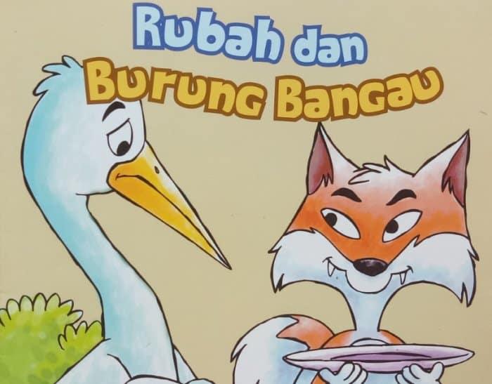 Cerita Fabel Seekor Bangau dan Seekor Rubah