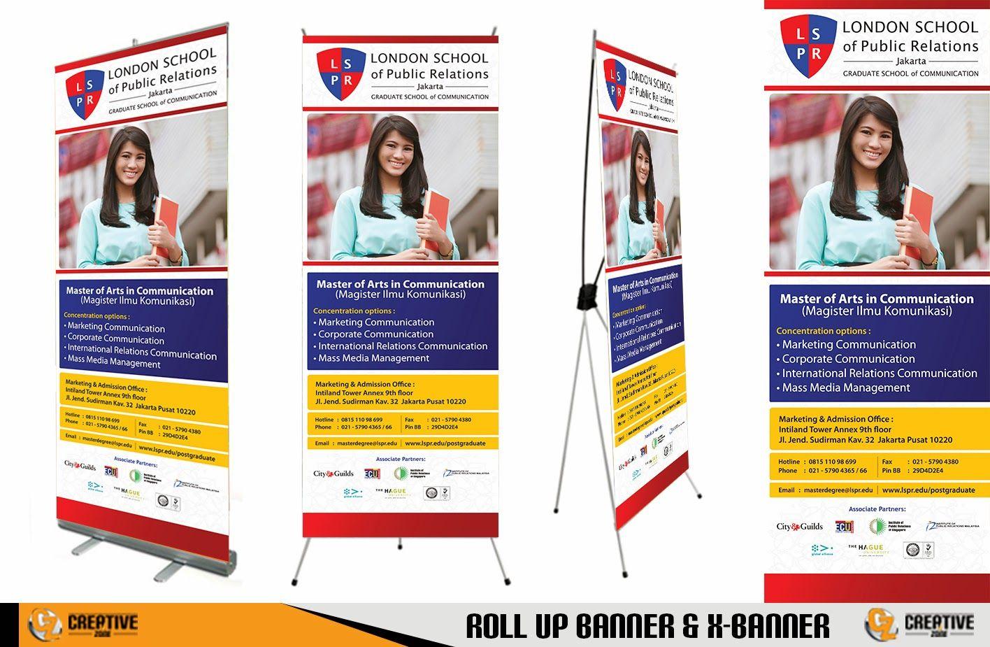 Contoh X Banner Sekolah