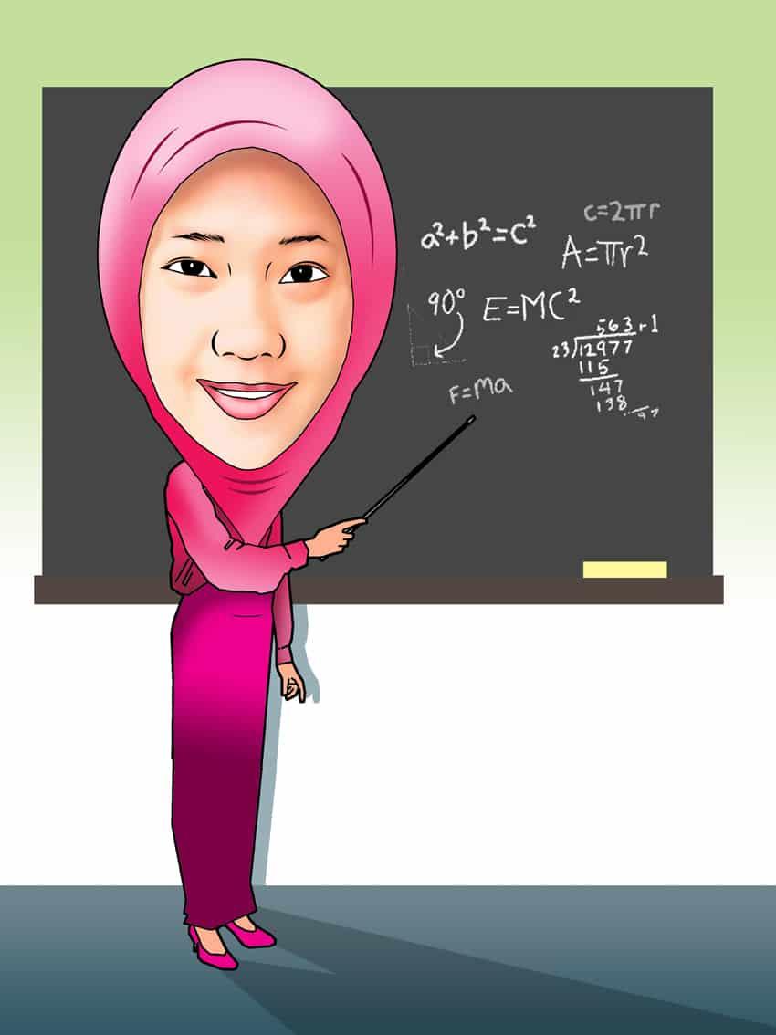 Gambar Karikatur Tema Muslimah