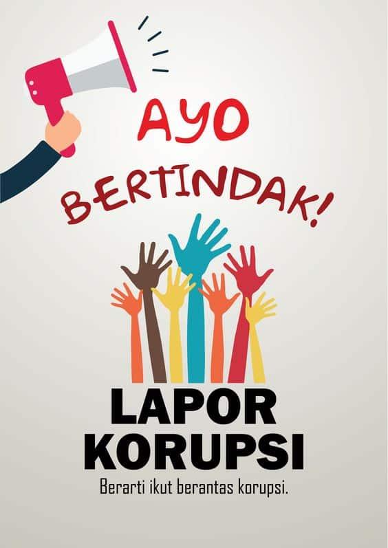 Jenis Poster Anti Korupsi dan Contoh