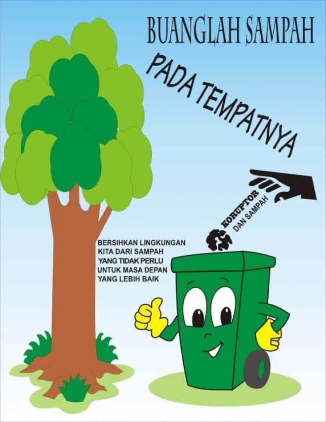 Jenis Poster Kebersihan dan Contoh