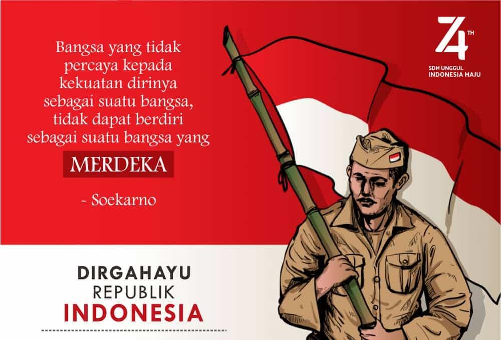 Jenis Poster Kemerdekaan dan Contoh