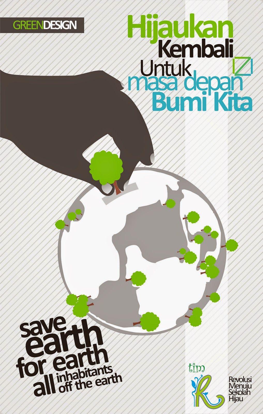 Jenis Poster Lingkungan dan Contoh