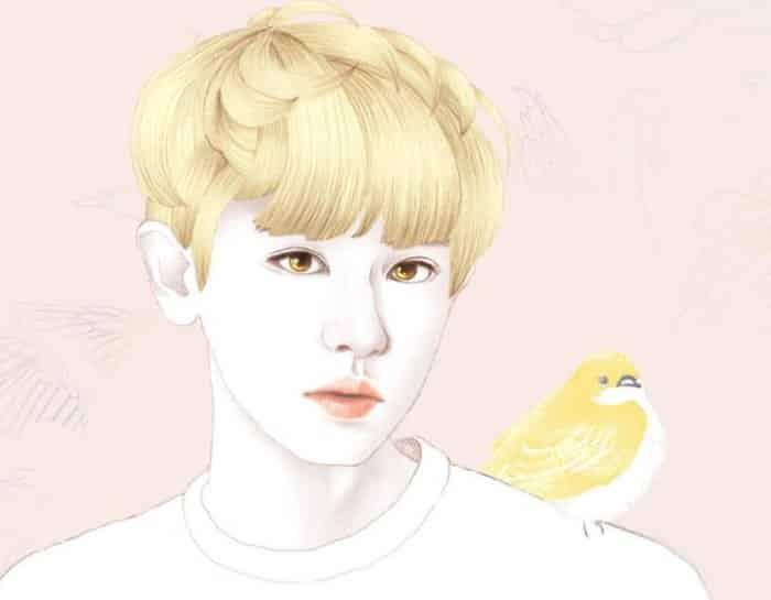 Karikatur dengan Tema Gambar EXO