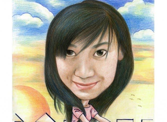 Karikatur dengan Tema Gambar Perempuan Cantik