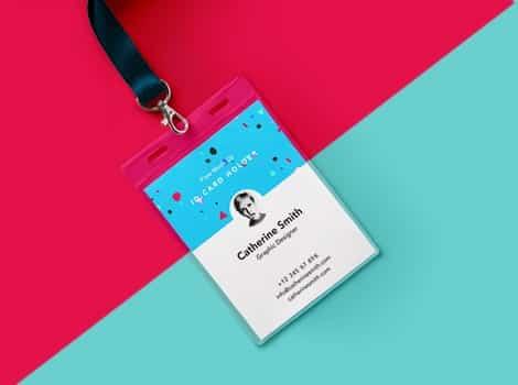 Media untuk Membuat ID Card