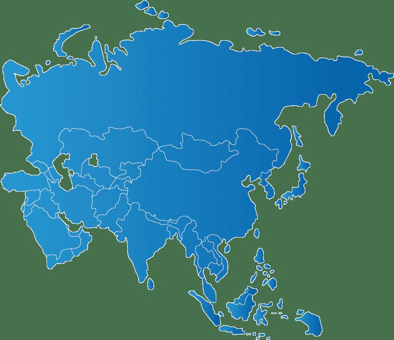Negara-Negara yang Ada di Peta Asia