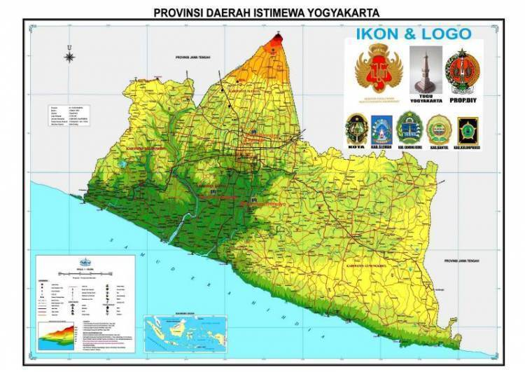 Pembagian Peta Yogyakarta
