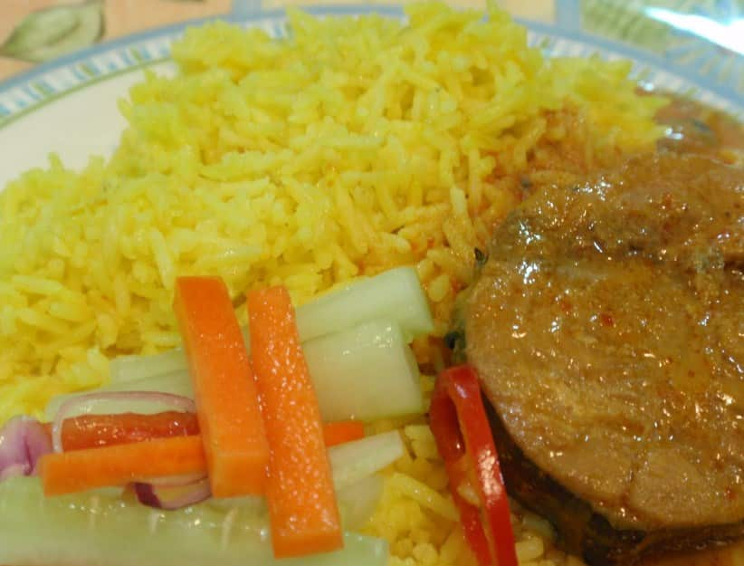 Resep Nasi Kuning Ikan Tongkol