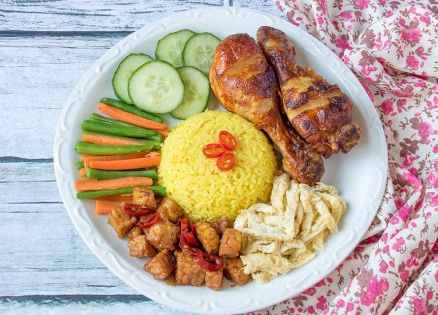Resep Nasi Kuning Susu
