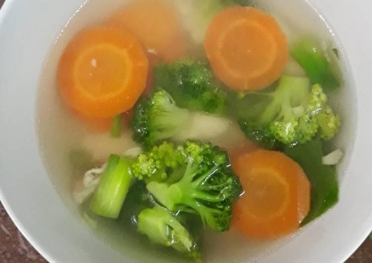 Resep Sop Ayam Brokoli