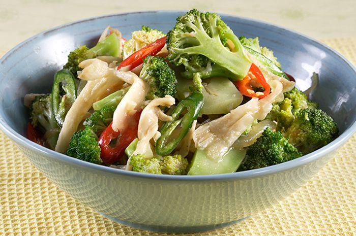 Resep Tumis Jamur Brokoli