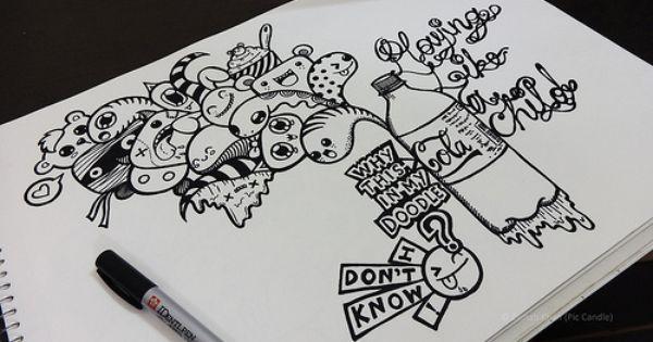 Sejarah Munculnya Gambar Doodle