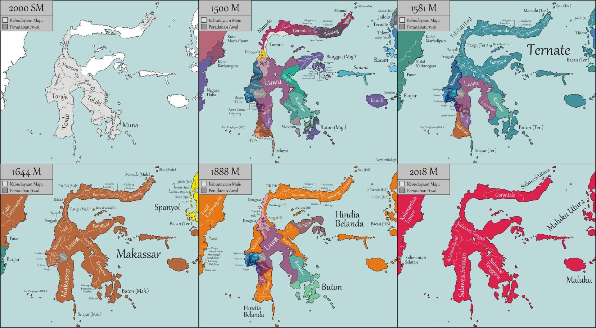 Sejarah Sulawesi