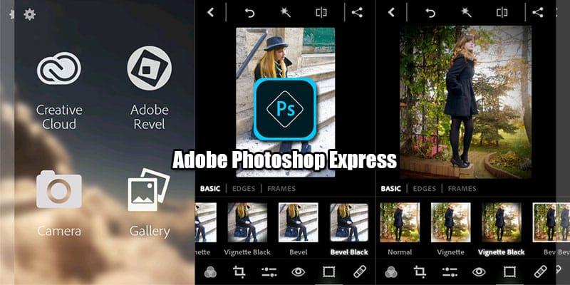 Aplikasi Adobe Photoshop Express/Lightroom