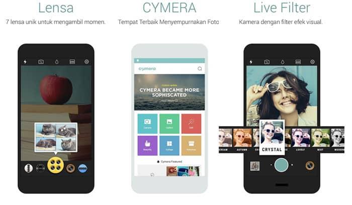Aplikasi Cymera
