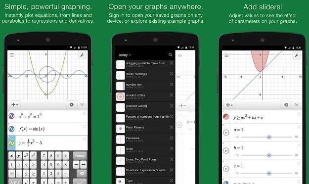 Aplikasi Graphing Calculator