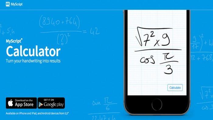 Aplikasi Pemecah Soal Matematika Myscript Calculator