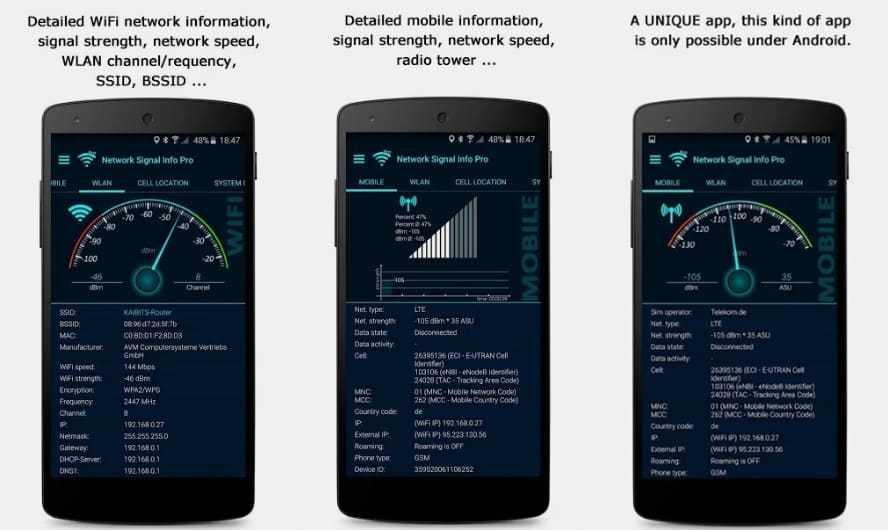 Aplikasi Penguat Sinyal-Network Signal Info