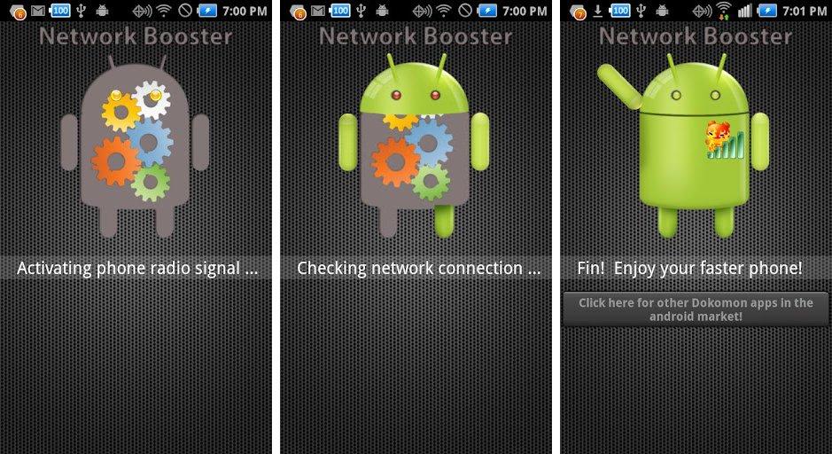 Aplikasi Penguat Sinyal-Network Signal Speed Booster
