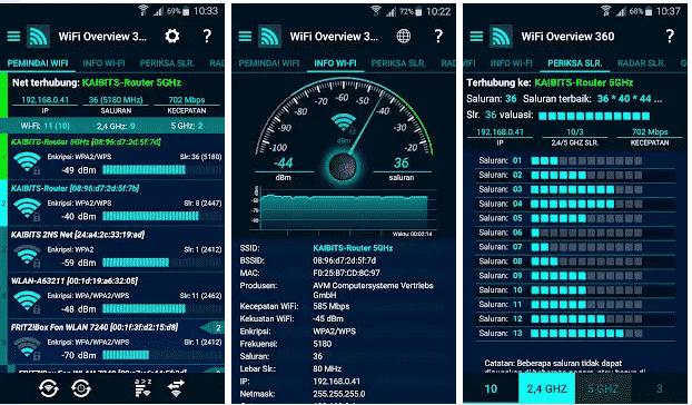 Aplikasi Penguat Sinyal-Wifi Overview 360