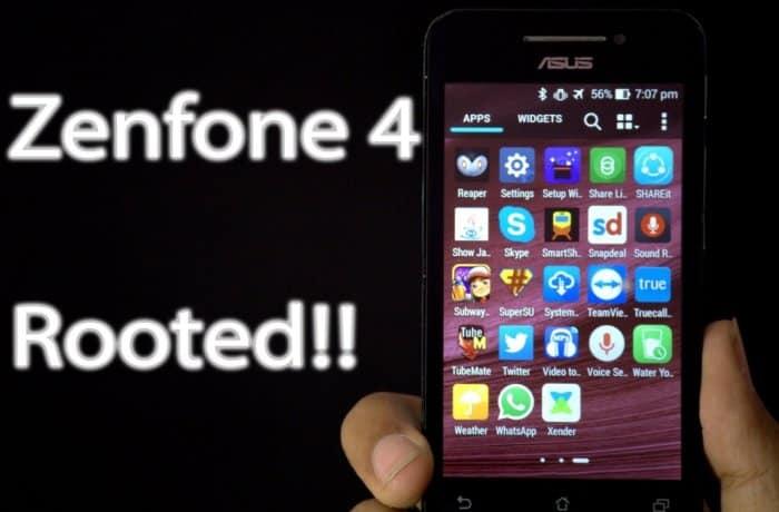 Aplikasi Root Zenfone