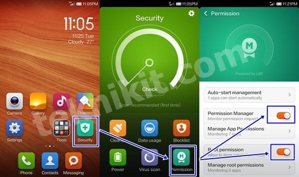 Aplikasi Xiaomi Redmi Root Files