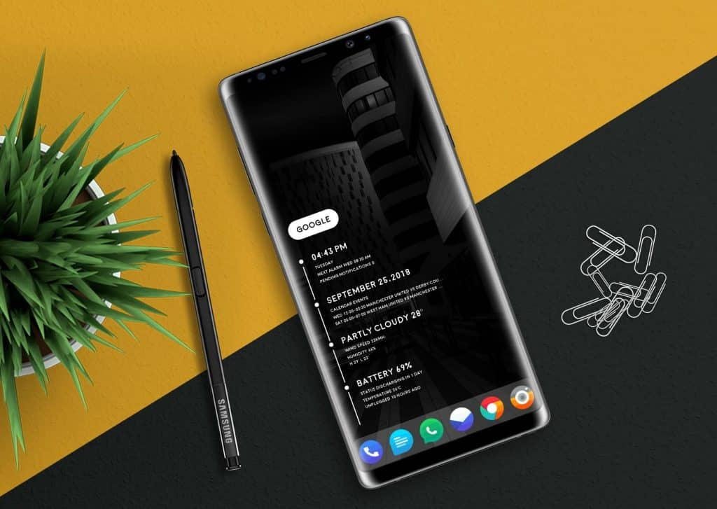 COOL NOTE 9 LAUNCHER