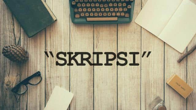 Contoh Metode Penelitian Untuk Skripsi