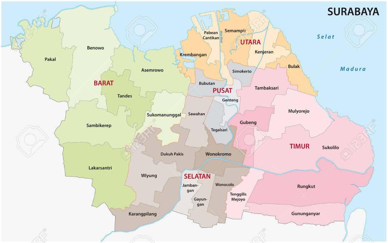 Kecamatan di Kota Surabaya