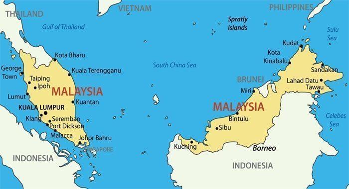 Letak Negara Malaysia