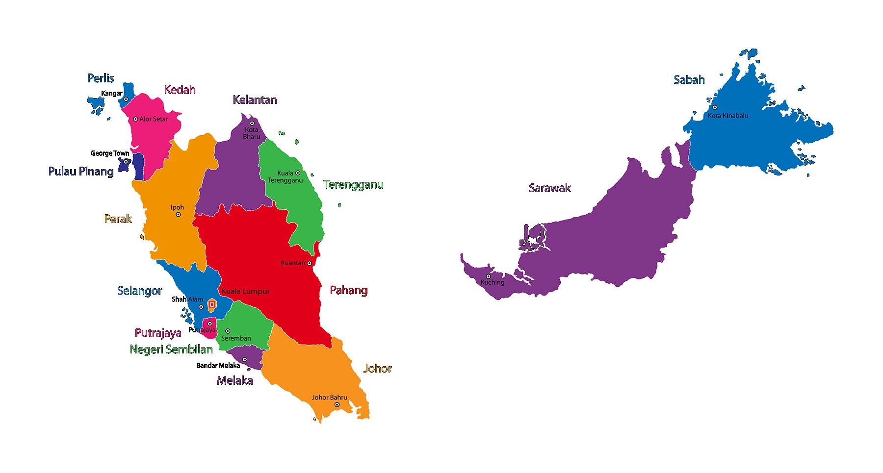 Negara-Negara Bagian Malaysia
