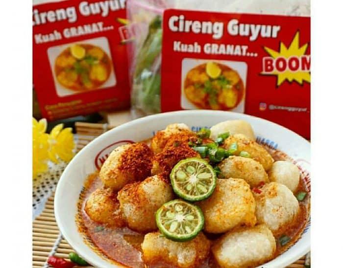 Resep Cireng Guyur Kuah Pedas