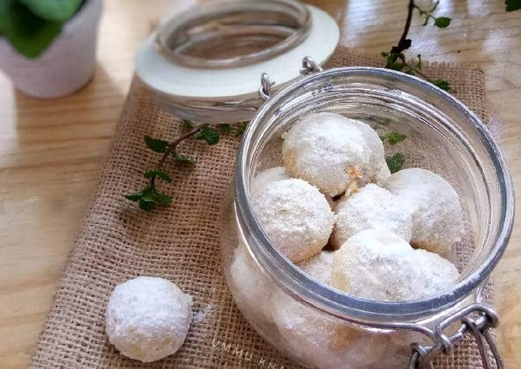 Resep Kue Putri Salju With Almond