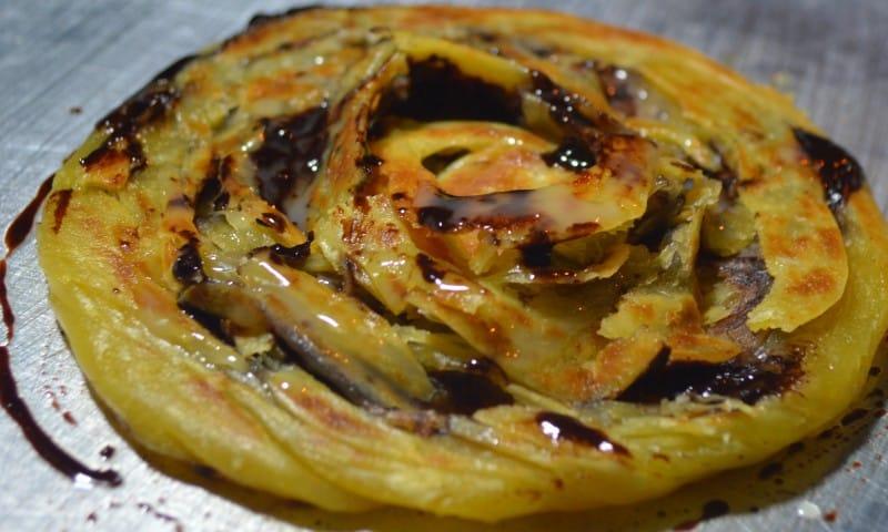 Resep Membuat Roti Maryam Rasa Coklat