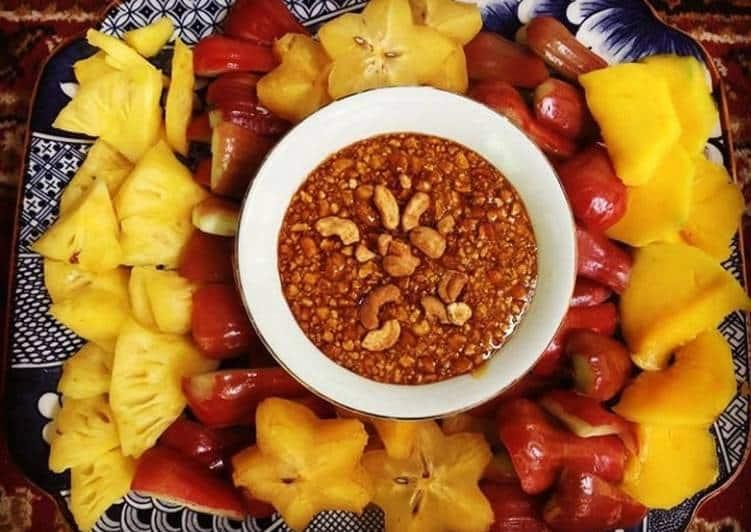 Resep Sambel Rujak Kacang Mede