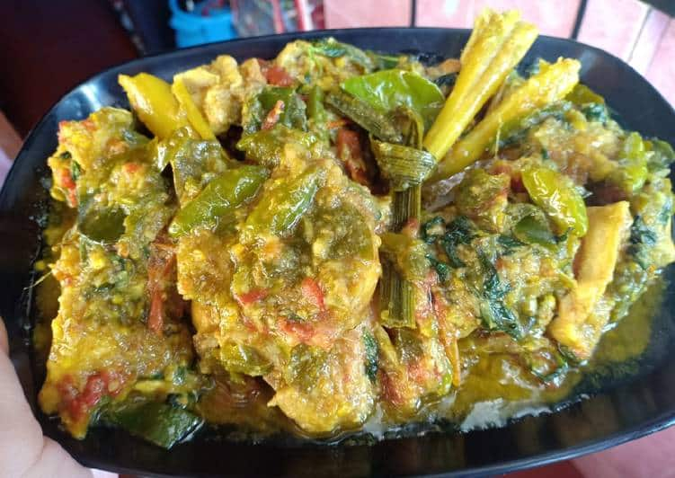 Resep Ayam Woku dengan Cabe Ijo