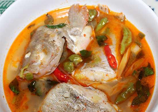 Resep Tom Yam Ikan Kerapu