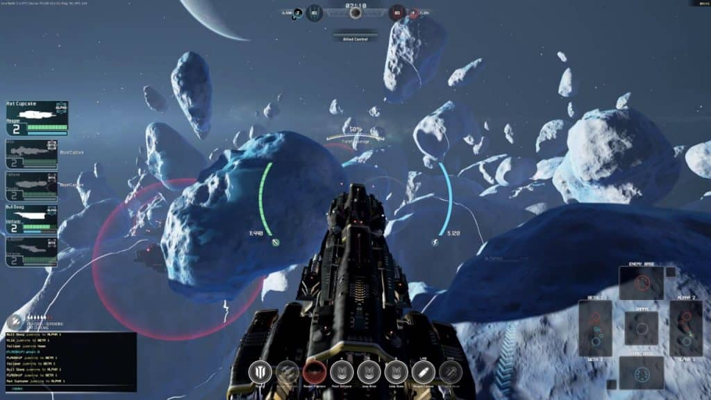 GAME ONLIE FRACTURED SPACE