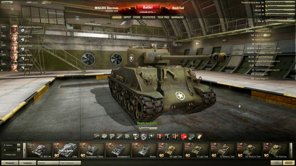 GAME ONLINE WORLD OF TANK