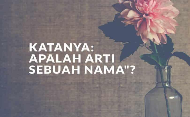 SEBUAH NAMA