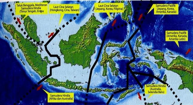 KERUGIAN YANG DIMILIKI DENGAN LETAK ASTRONOMIS NEGARA INDONESIA